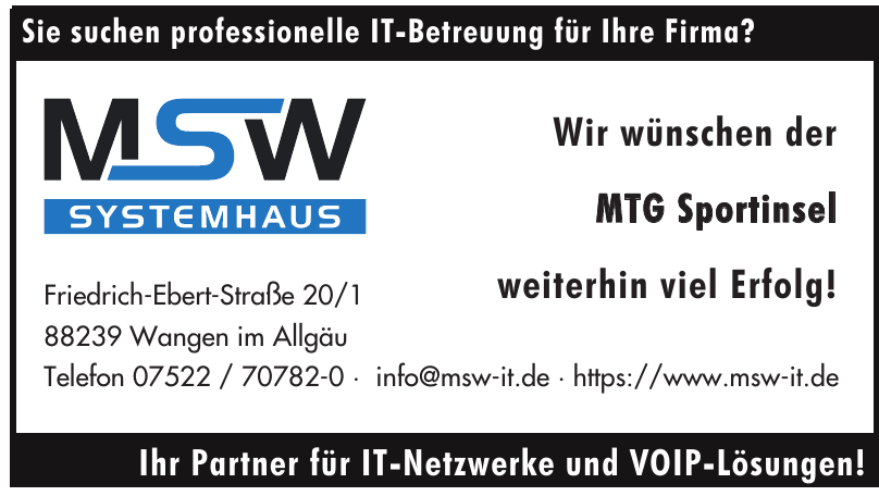 MSW Systemhaus
