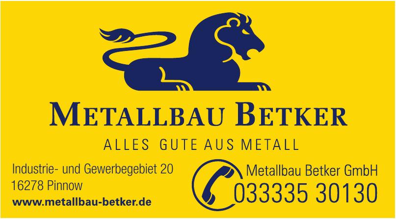 Metallbau Betker GmbH