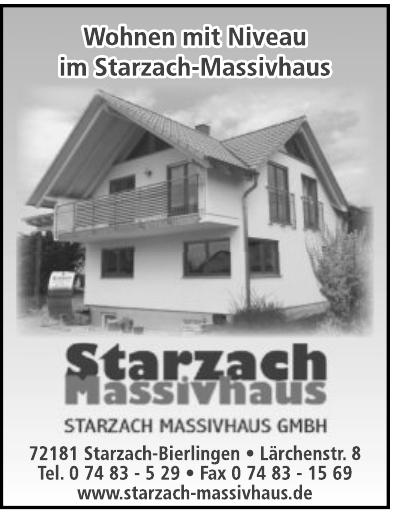 Starzach Masivhaus