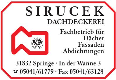 Sirucek Dachdeckermeister