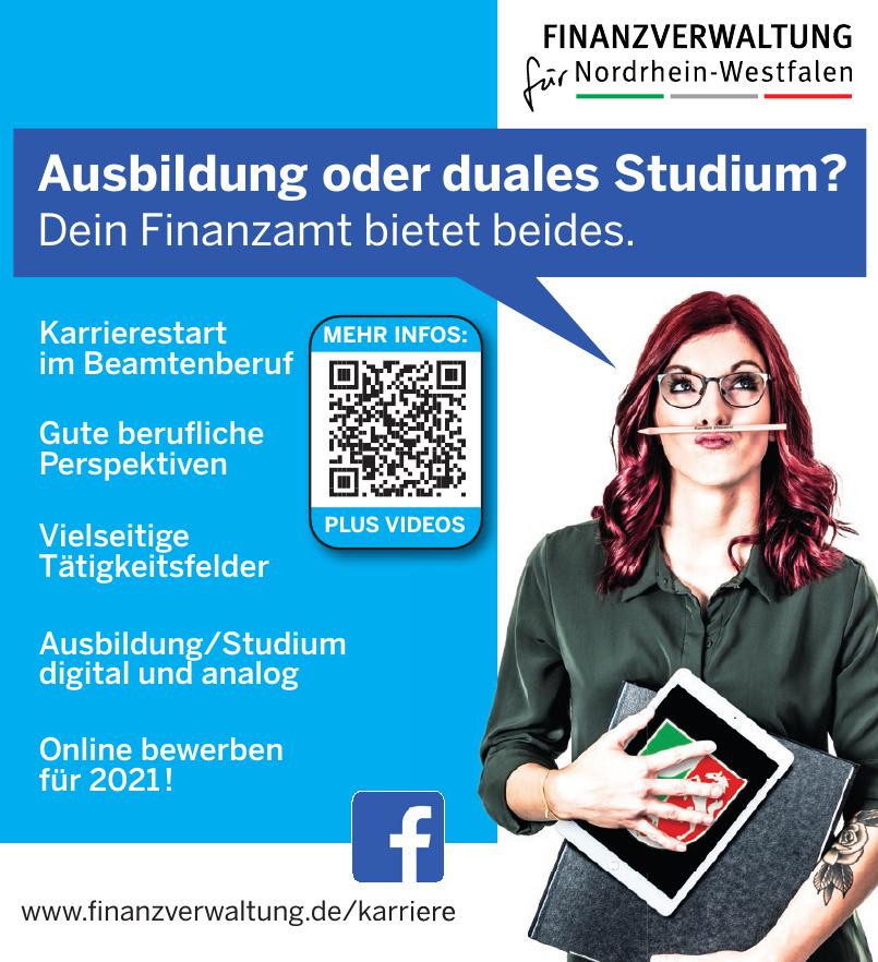 Finanzverwaltung für Nordrhein-Westfalen