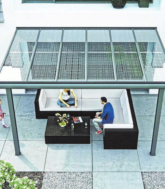 Mit der selbstgewonnenen Energie macht sich die Solarinstallation von selbst bezahlt.