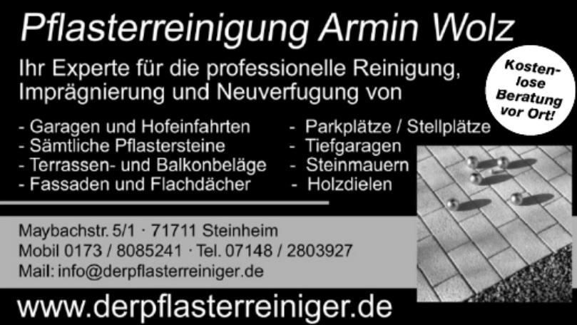 Pflastreinigung Armin Wolz