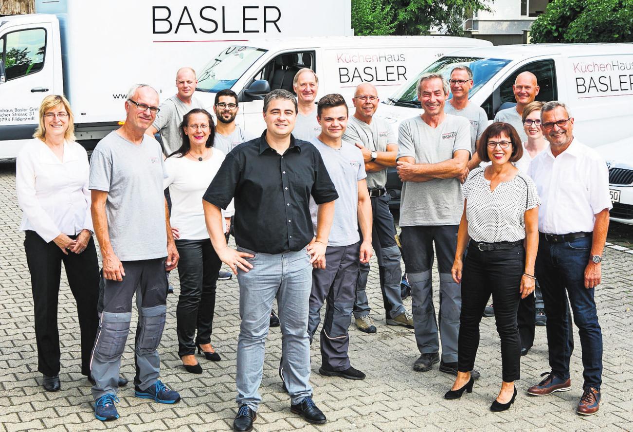 Kompetent und mehrfach ausgezeichnet: Die Experten des Küchenhauses Basler. Fotos: z/Benjamin Stollenberg