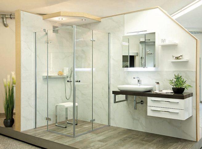 Auf 150 Quadratmetern wird die ganze Bandbreite für ein modernes Bad aufgezeigt. Der Kunde kann sich vor Ort in Ruhe inspirieren lassen.