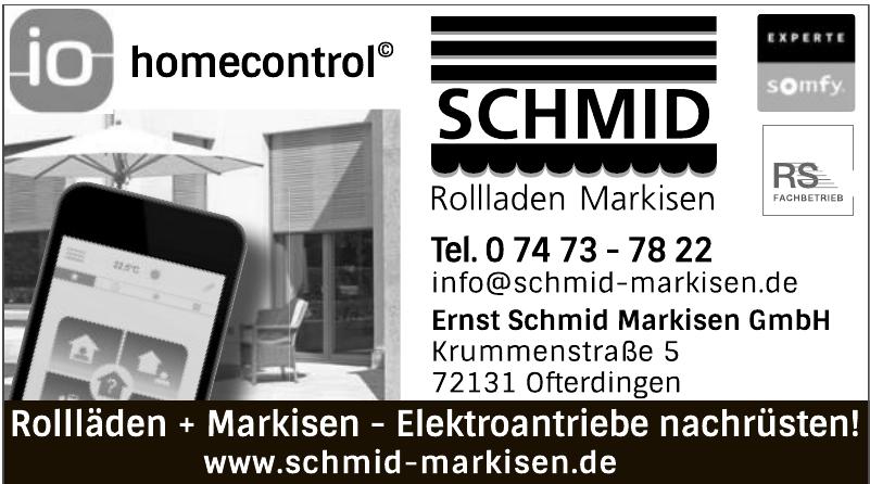 Ernst Schmid Rollladen Markisen GmbH