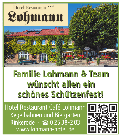 Hotel Restaurant Café Lohmann
