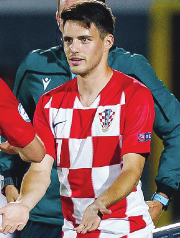 Im Kader Kroatiens: Josip Brekalo.