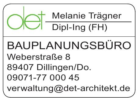 det  Melanie Träger Dipl.-Ing (FH) Bauplanungsbüro