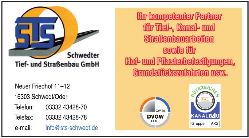 STS Schwedter Tief- und Straßenbau GmbH