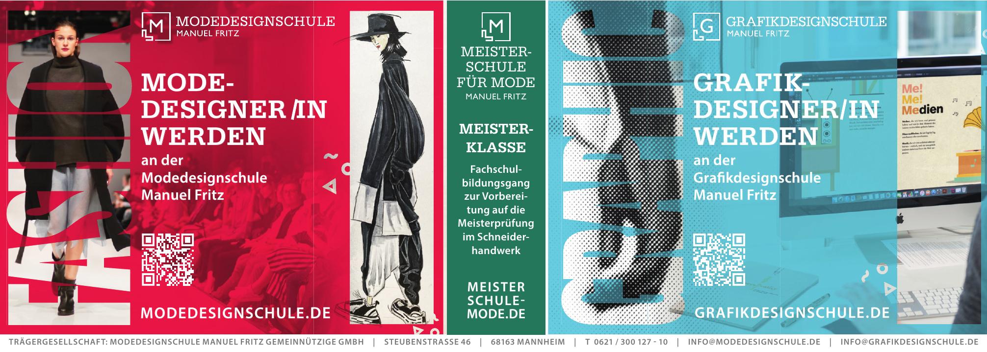 Modedesignschule Manuel Fritz Gemeinnützige GmbH