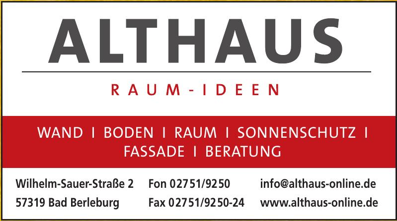 Althaus GmbH