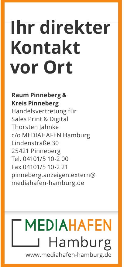 Handelsvertretung für Sales Print & Digital Thorsten Jahnke