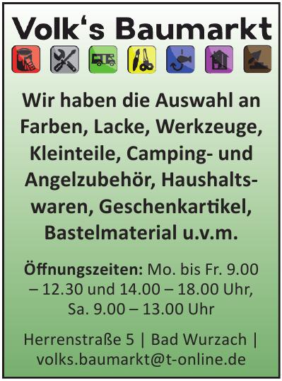 Volk's Baumarkt