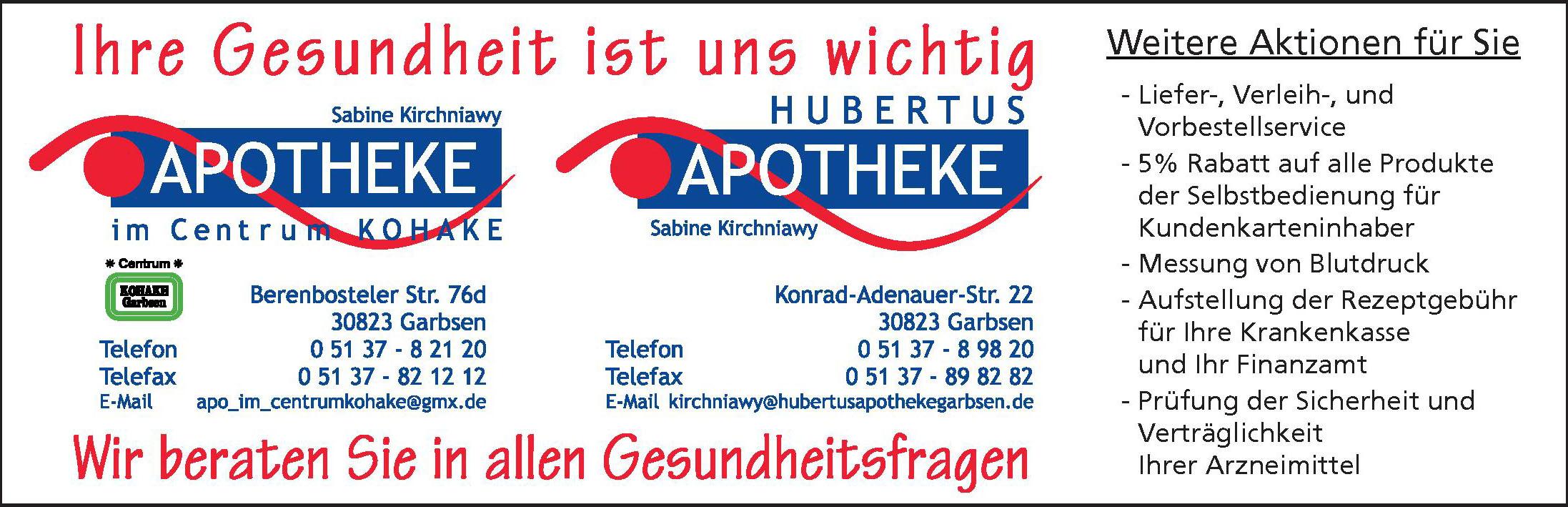 Hubertus Apotheke Garbsen