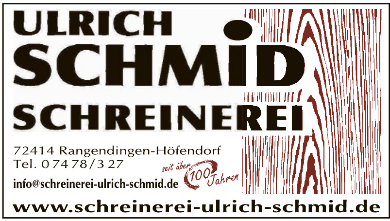 Ulrich Schmid Schreinerei