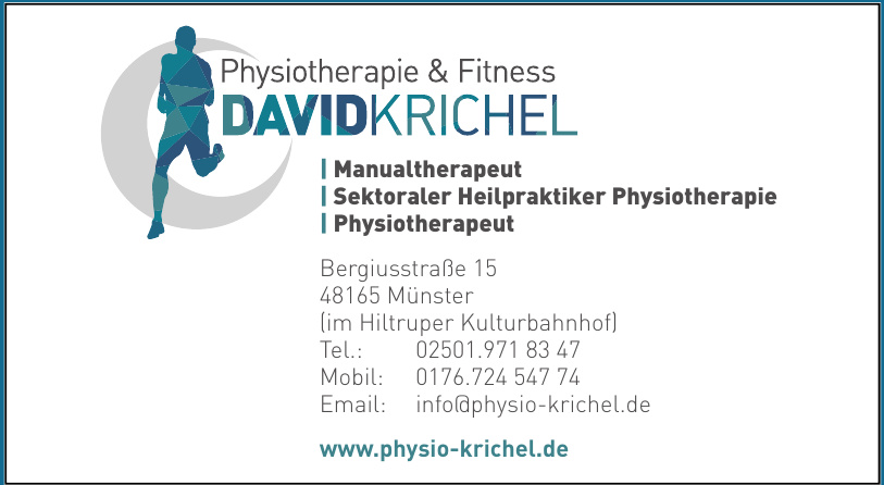Physio & Fitness  David Krichel