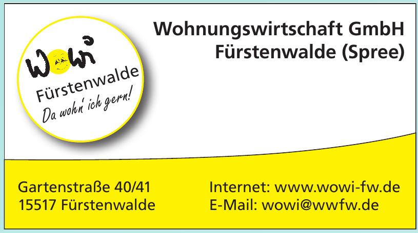 Wohnungswirtschaft GmbH Fürstenwalde (Spree)