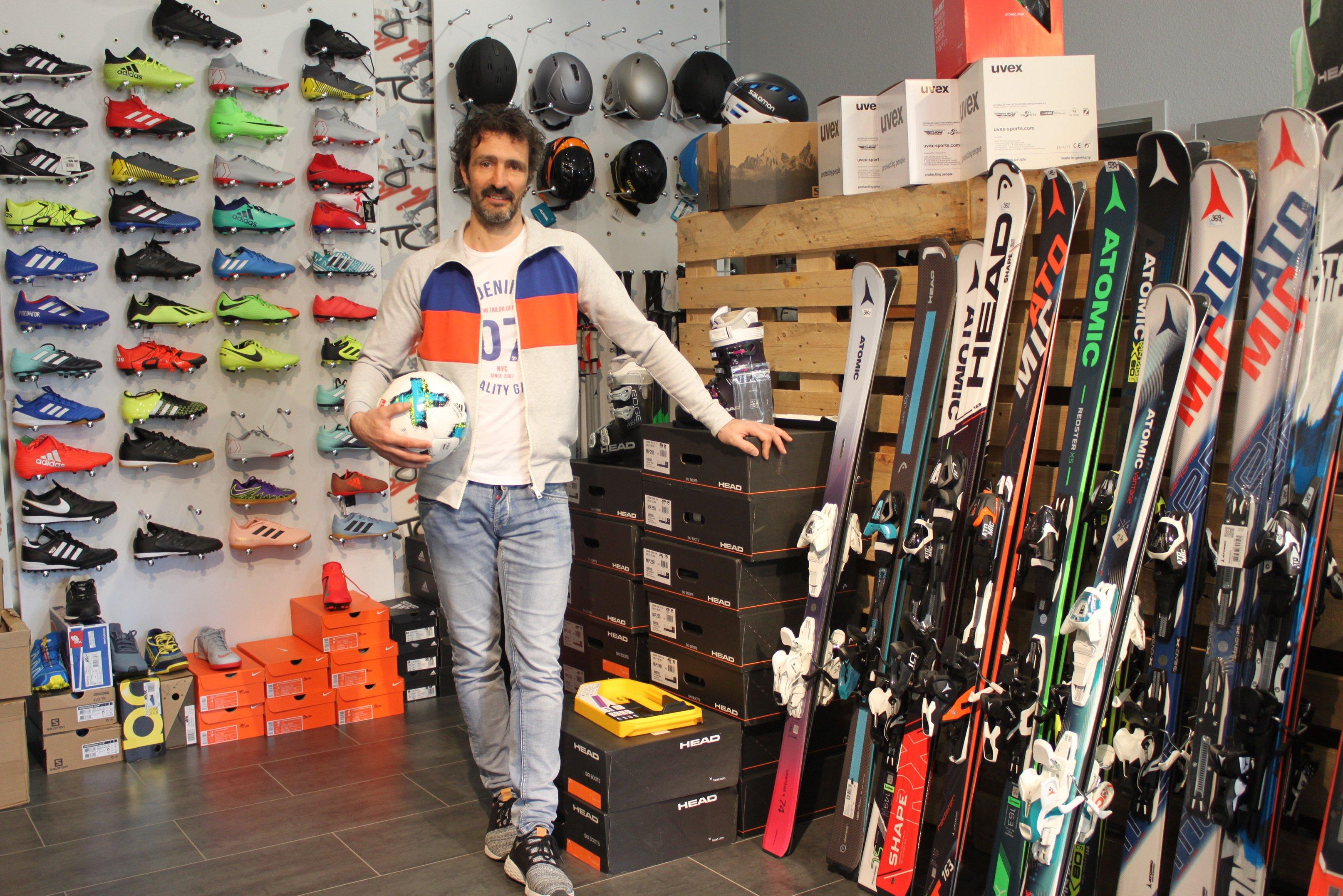 Sport- und Freizeitausrüstung für Jung und Alt gibt es bei Lars Müller in Eisleben. FOTO: C. LAUFER