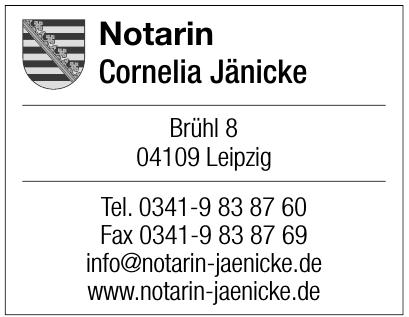 Notarin Cornelia Jänicke