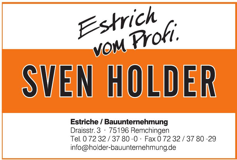 Sven Holder Bauunternehmen