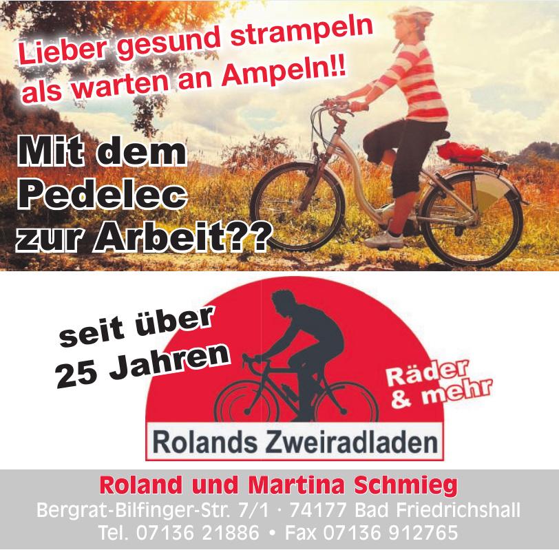 Roland und Martina Schmieg