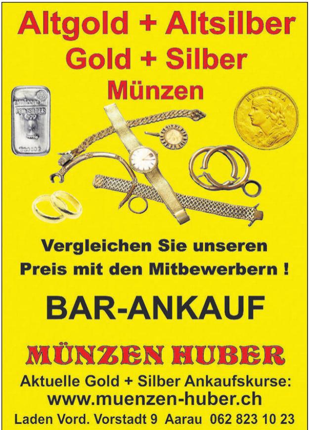 Bar-Ankauf Münzen Huber