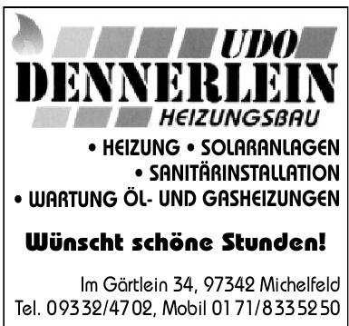 Udo Dennerlein Heizungsbau