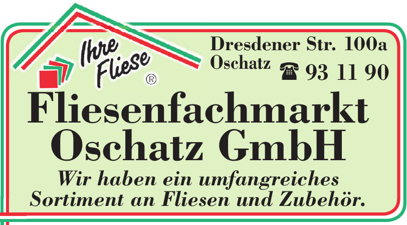 Fliesenfachmarkt Oschatz GmbH