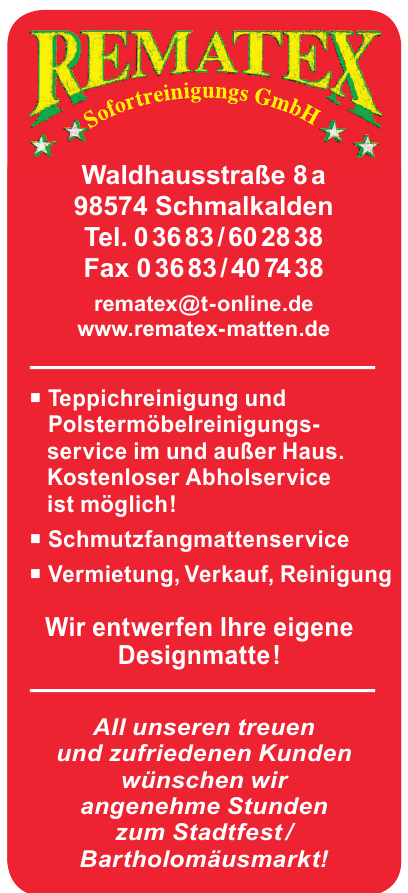 Rematex Sofortreinigungs GmbH