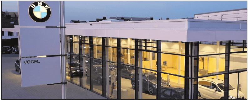 An drei Standorten vertreten: die VOGEL Autohäuser. FOTO: FREI