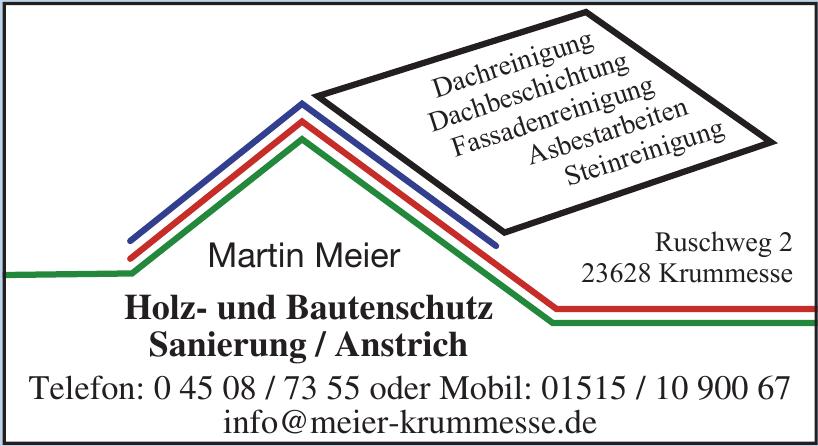 Martin Meier Holz- und Bautenschutz Sanierung / Anstrich