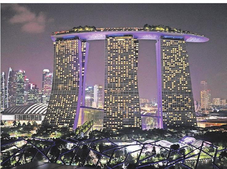 Der Stadtstaat Singapur gehört zu den faszinierendsten Metropolen der Welt.