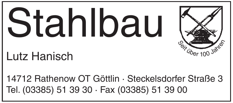 Stahlbau Lutz Hanisch