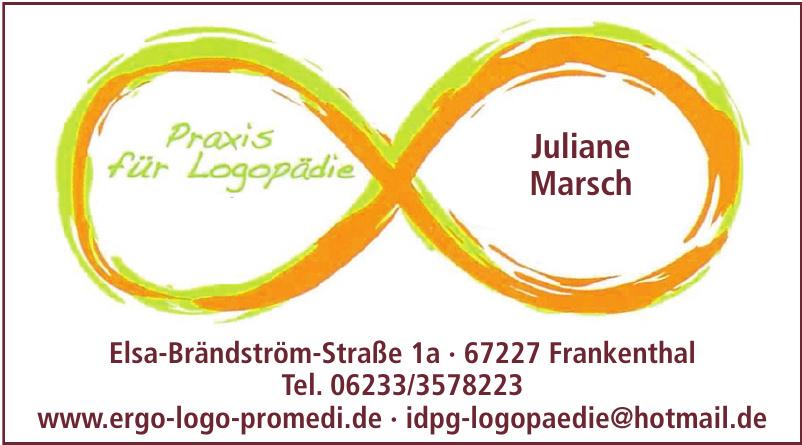 Praxis für Logopädie Juliane Marsch