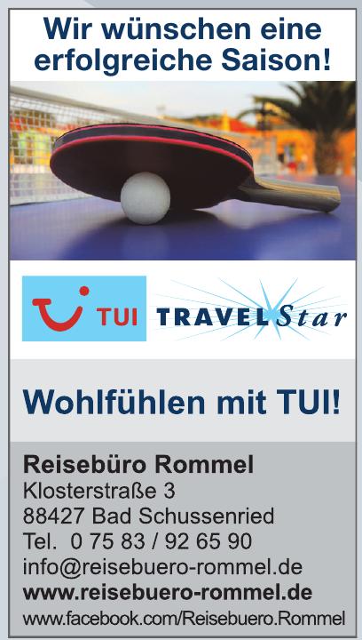 Tui TravelStar - Reisebüro Rommel