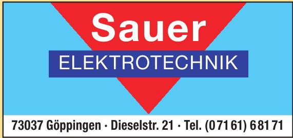 Sauer Elektrotechnik