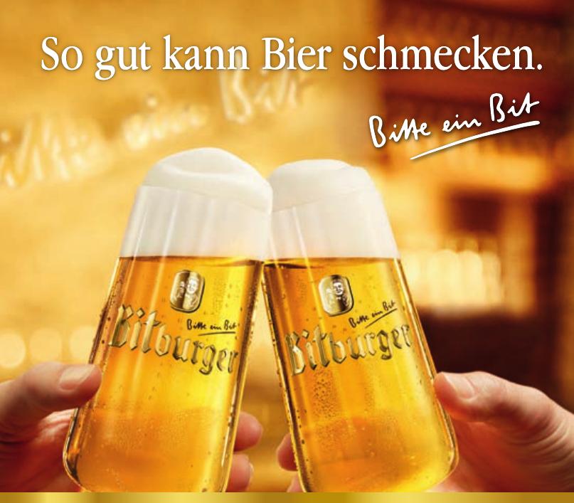 Bitburger - Bitte ein Bit