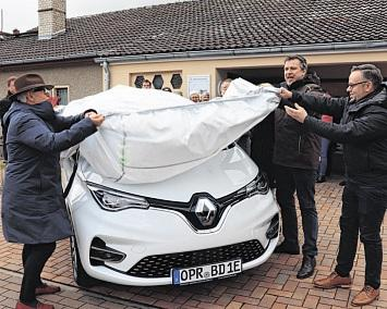 Dorfverein Barsikow stellt das E-Dorfmobil vor