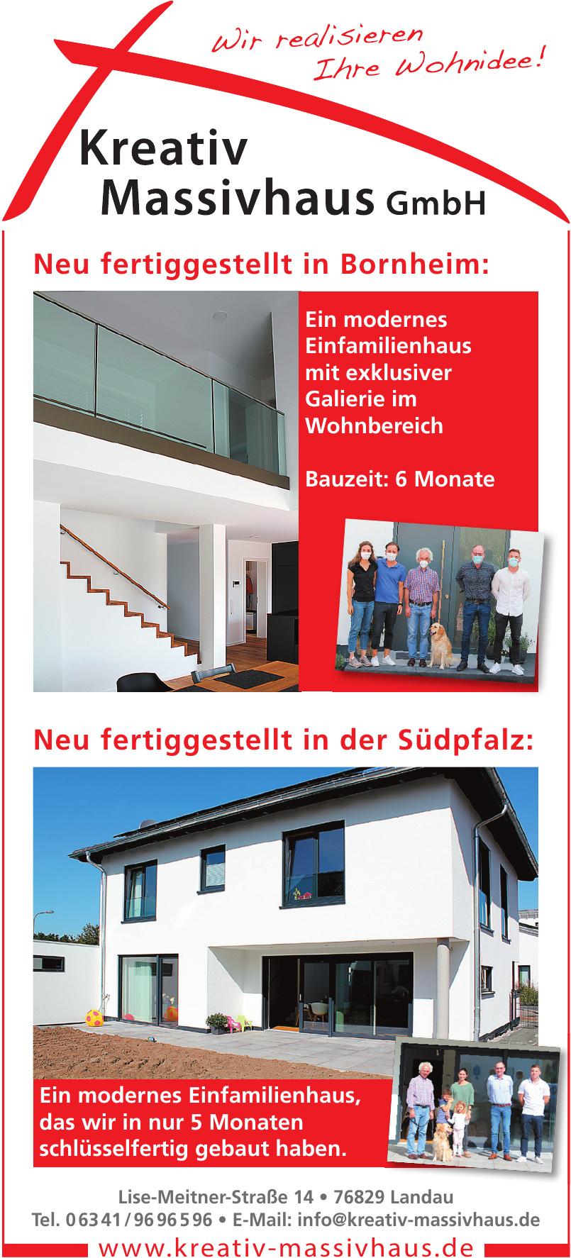 Kreativ Massivhaus GmbH