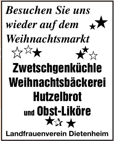 Landfrauenverein Dietenheim