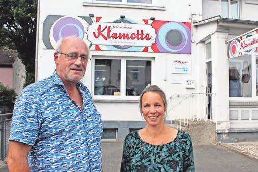 Ernst Simme und Melanie Da Canalis FOTOS: KIRCHHOFF
