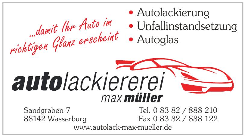 Autolackiererei Max Müller