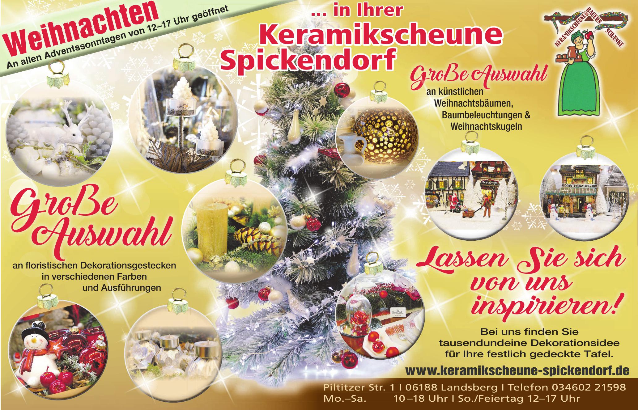 Keramikscheune Spickendorf