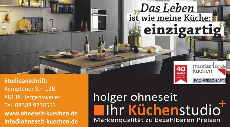 holger ohneseit Ihr küchenstudio