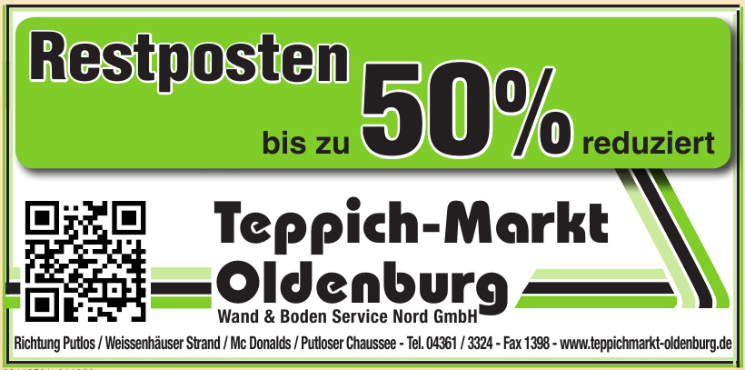 Teppich-Markt Oldenburg Wand & Boden Service Nord GmbH