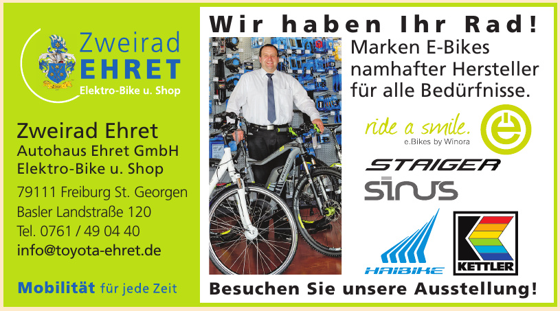 Zweirad Ehret Autohaus Ehret GmbH