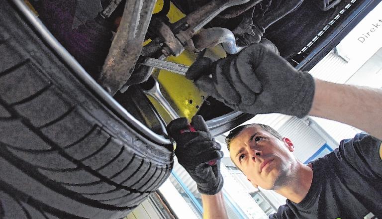 Das Autohaus Wagner in Frammersbach ist Ansprechpartner bei Fahrzeugwartungen und -reparaturen. Auch Tuning gehört zum Leistungsangebot. FOTO: JOHANNES UNGEMACH