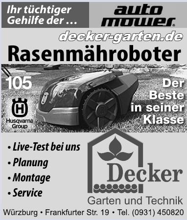 Decker Garten und Technik