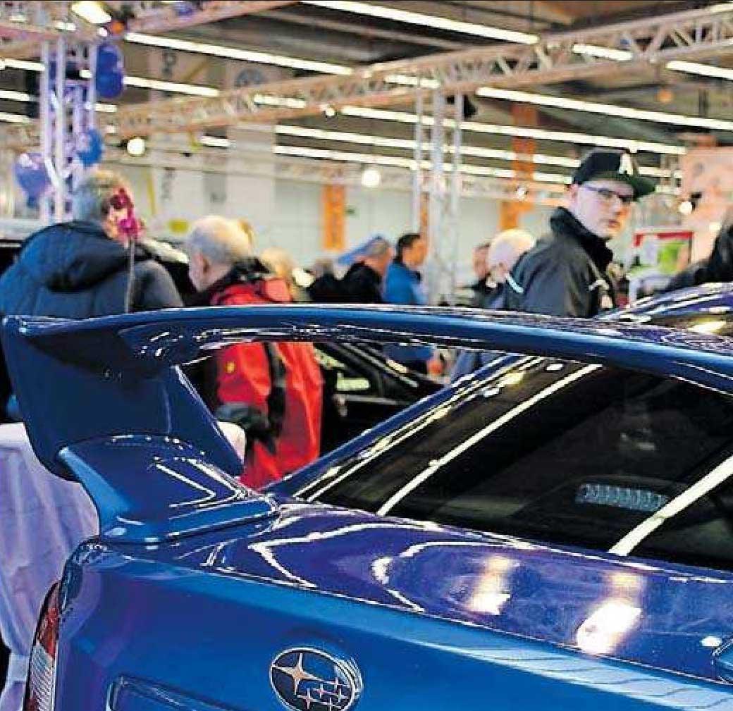 Sportliche Fahrzeuge gibt es auch in diesem Jahr. FOTO: FRITS/FRE